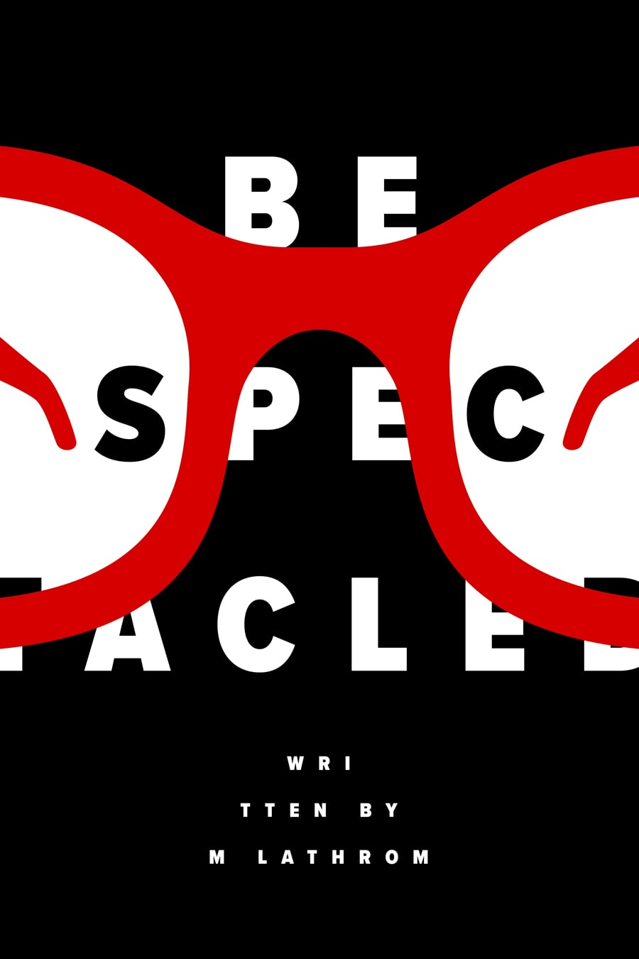 Bespectacled Poster