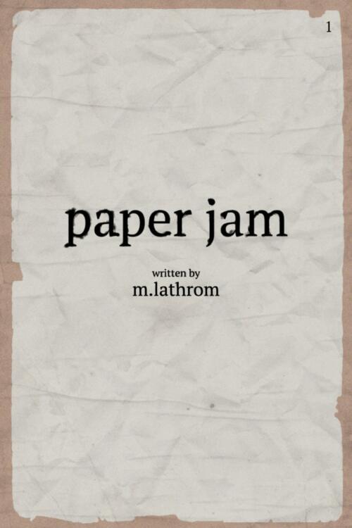 Paper Jam Poster